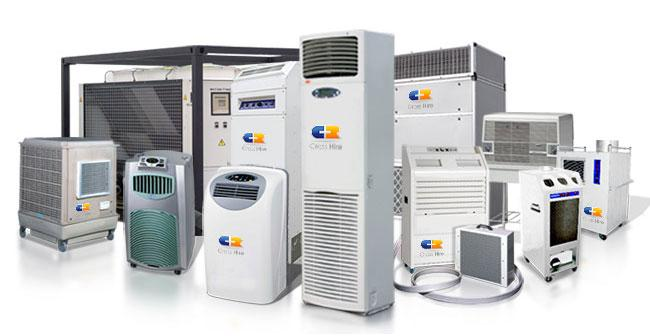 Our extensive portable air conditioners range