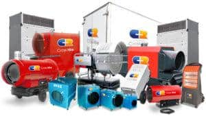 Cross Hire's Guide for Meeting Your Workplace Heating Requirements
