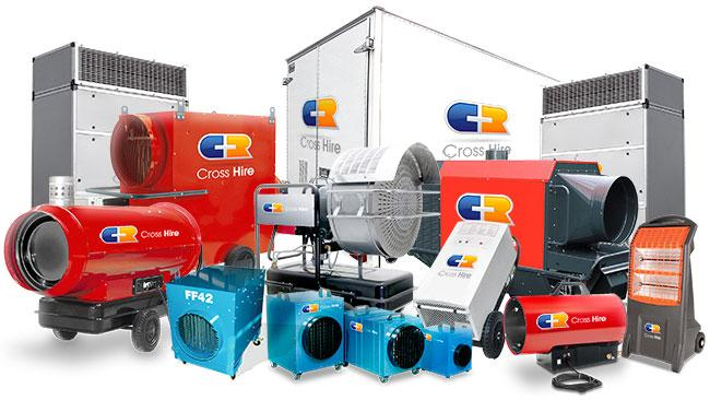 Our extensive heating range