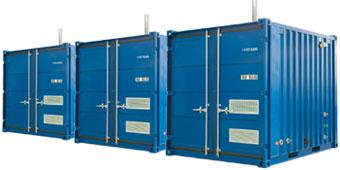 Boiler Hire: Containers