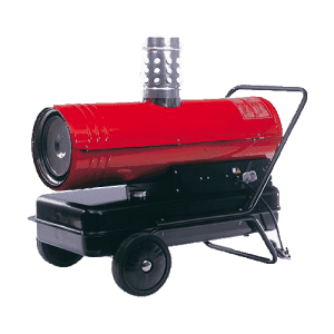 oil fired heater red star 25 cross hire services