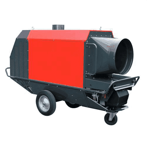 Indirect Fired Heater Hire
